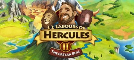12 Labours of Hercules II: The Cretan Bull, un jeu jupette et sandalettes