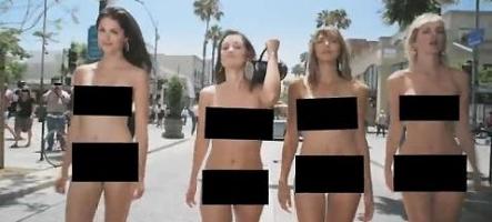 Des filles nues pour Guitar Hero 5 (et un mec aussi) ?