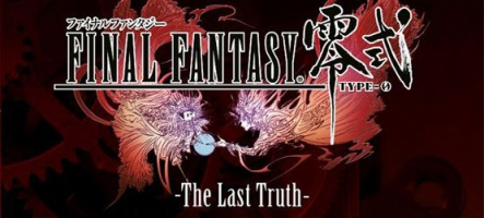 Final Fantasy Type O : The Last Truth, le livre !