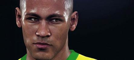 PES 2016 s'offre Neymar