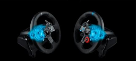 Logitech sort des volants PS4, Xbox One et PC