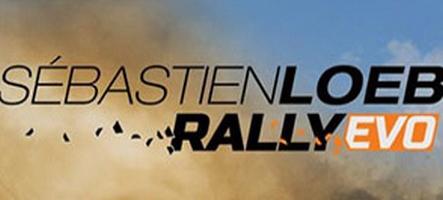 Sébastien Loeb Rally Evo s'illustre en vidéo