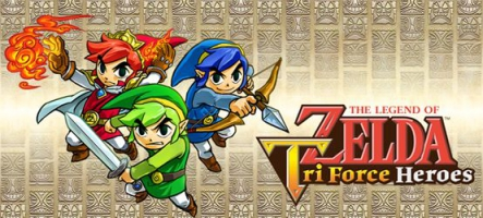The Legend of Zelda: Tri-Force Heroes, un jeu en coop sur 3DS