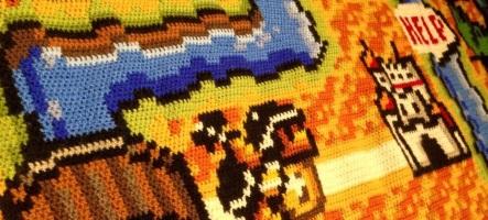 Le tricot de Super Mario Bros. 3 qui a mis 6 ans à voir le jour