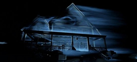 Perception : aveugle dans une maison hantée