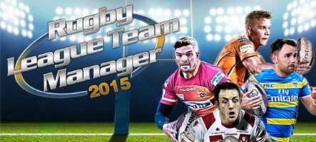 Rugby League Team Manager 2015 : Dirigez votre équipe de rugby !