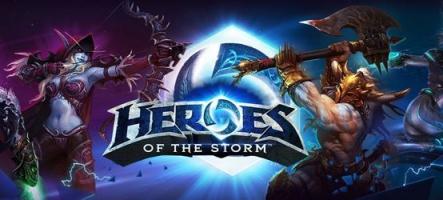 Heroes of the Storm : des centaines de joueurs bannis, week-end 100% XP