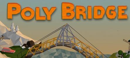 Poly Bridge : Un pont trop loin ?