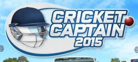 Cricket Captain 2015 est disponible