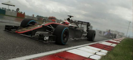 F1 2015 : le lancement