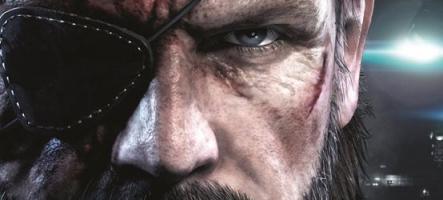 MGS V : Konami raye Kojima de la jaquette