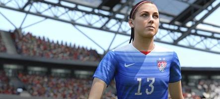 Une femme sur la jaquette de FIFA 16 !