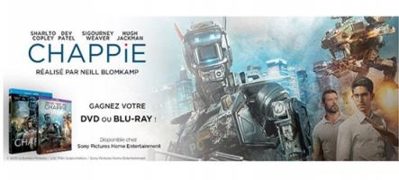 Concours : Gagnez des Blu-Ray et DVD de Chappie !