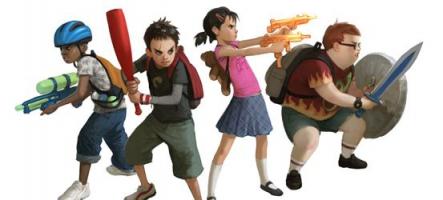 Zombie Playground : des morts-vivants pour les enfants