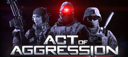 Act of Aggression sort l'artillerie lourde