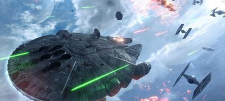 (Gamescom) Nous avons piloté le Faucon Millenium dans Star Wars Battlefront