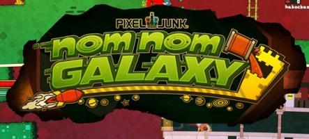 PixelJunk Nom Nom Galaxy : A la soupe !