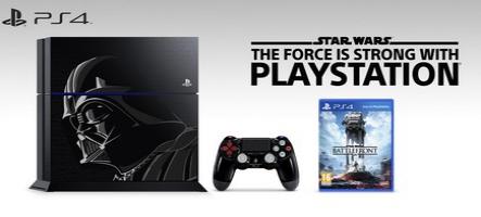 Une PS4 spéciale Darth Vader en approche