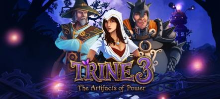 Trine 3 est disponible sur PC