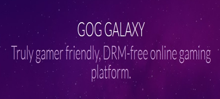 Le launcher de GOG, Galaxy, s'améliore et passe en version beta 1.1