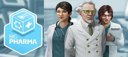 Jouez le rôle d'un dirigeant d'une grosse boite de pharmaceutique avec Big Pharma