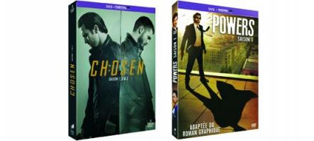 Concours Séries TV : Gagnez des coffrets de Powers et Chosen !