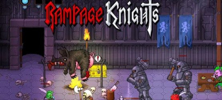 Rampage Knights, un beat'em up en coop