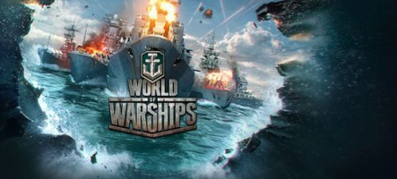 World of Warships est disponible