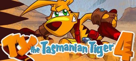 TY the Tasmanian Tiger 4 : Un jeu de plateformes australien