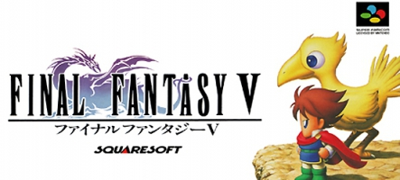 Final Fantasy V disponible sur PC