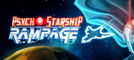 Psycho Starship Rampage, un space-shooter