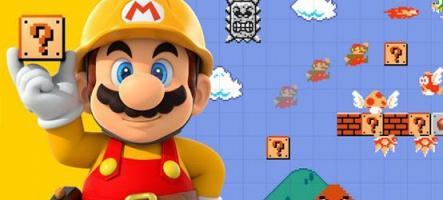 Super Mario Maker : 1 million de jeux vendus, 2,2 millions de niveaux créés