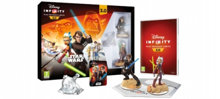 Disney Infinity 3.0 Star Wars : Le pack Rise Against the Empire est sorti !