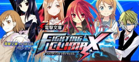 Dengeki Bunko : Fighting Climax sort sur PS3 et PS Vita