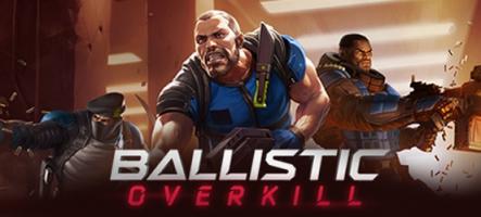 Ballistic Overkill, un nouveau FPS multijoueur