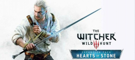 The Witcher 3: Wild Hunt Hearts of Stone est disponible