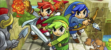 TEST : The Legend of Zelda Tri Force Heroes (Nintendo 3DS)
