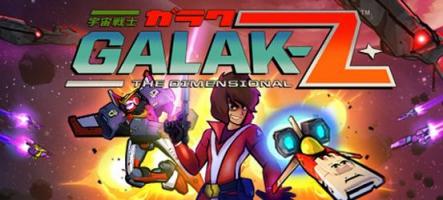 Galak-Z : Un shoot avec du chocolat blanc ?