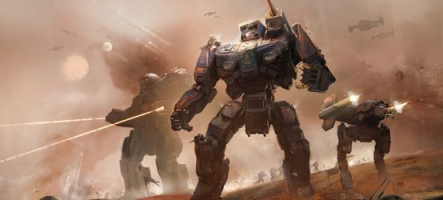 BattleTech : Un Kickstarter à plus de 2,5 millions de dollars !