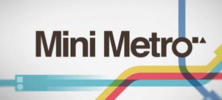 Mini Metro : Faites mieux que la RATP