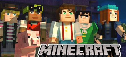 TEST : MineCraft Story Mode : Episode 1, l'Ordre de la Pierre (PC, Xbox 360, PS3, PS4, Xbox One)