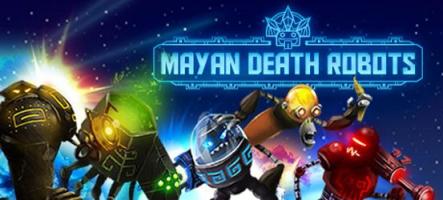 Mayan Death Robots : Combattez d'énormes robots aliens
