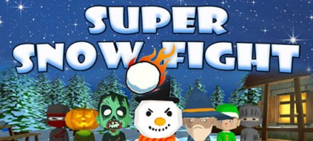Super Snow Fight : bataille de boules de neige