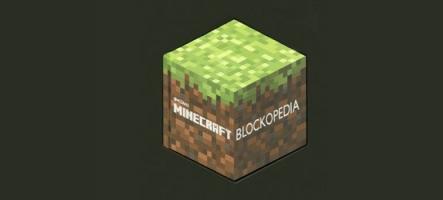 Concours MineCraft : Gagnez l'encyclopédie MineCraft Blockopedia