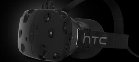 Valve et HTC repoussent la sortie de leur casque à réalité virtuelle Vive