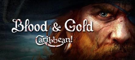 Blood & Gold: Caribbean!, un jeu de rôle au pays des pirates