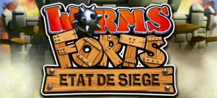 Worms Forts : Etat de siège disponible gratuitement