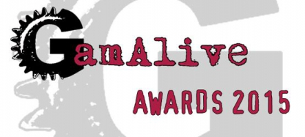 GamAlive Video Games Awards 2015 : La liste des nominés