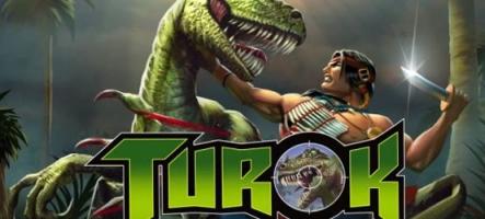 Turok ressort sur Steam et Gog.com
