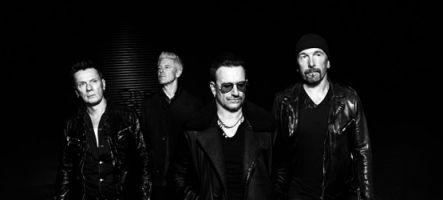 U2 : 8 nouvelles chansons sur Rock Band 4